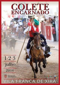 Vila Franca de Xira- Colete Encarnado 2016- 1 a 3 Julho