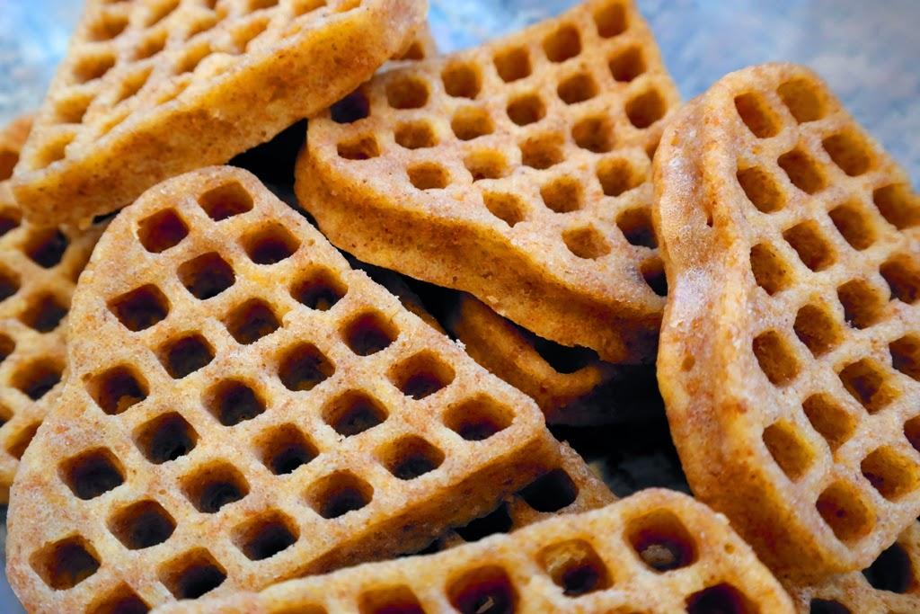 Fırında Elmalı Waffle