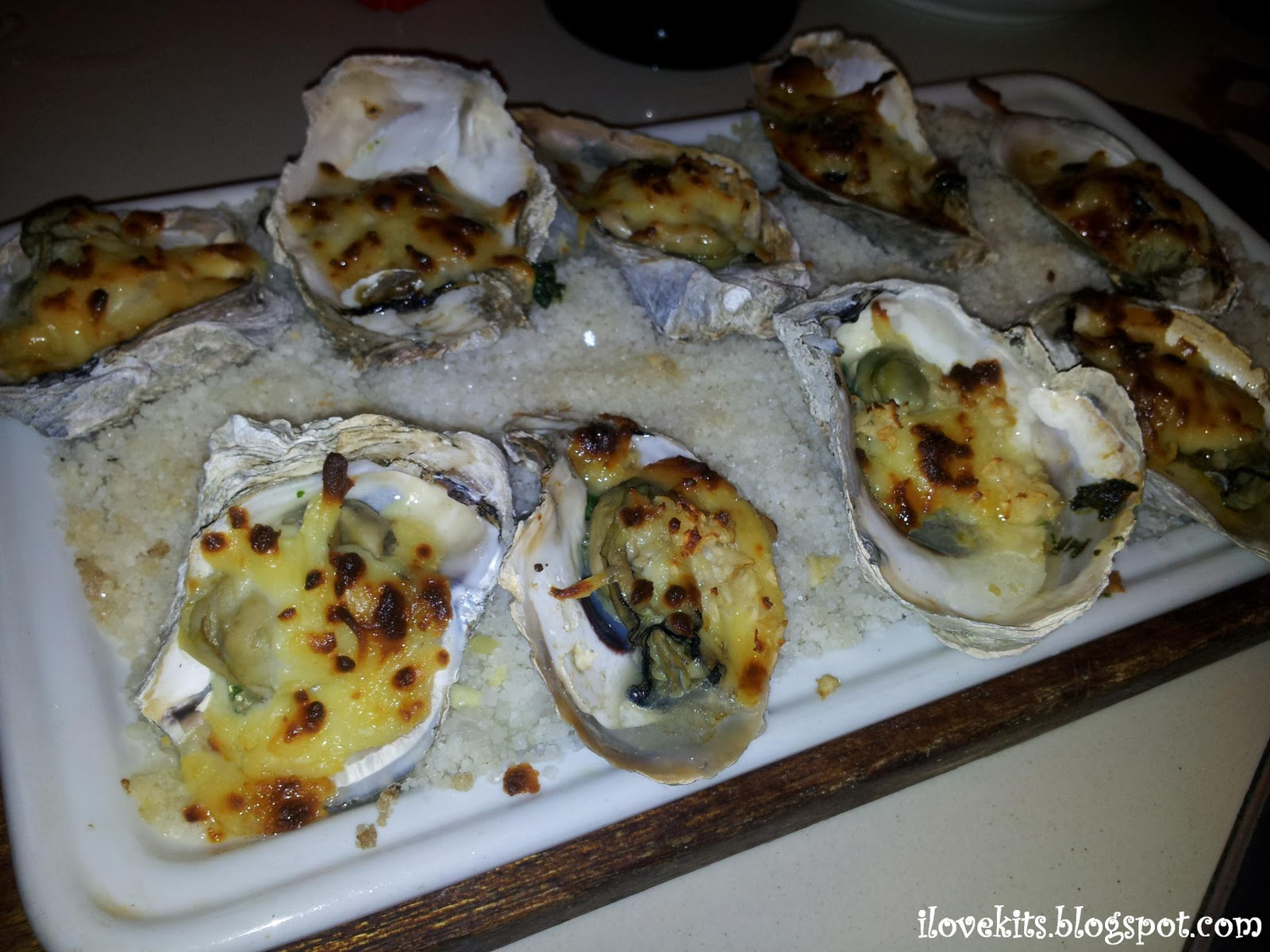 Baked Oysters (Php300.00)