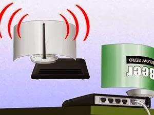 بالصور:كيف تقوى إشارة Wi-Fi بعلبة كانز  - واى فاى