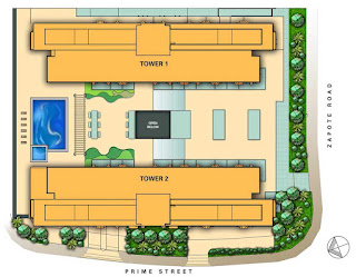 Avida Towers Alabang Site Development Map