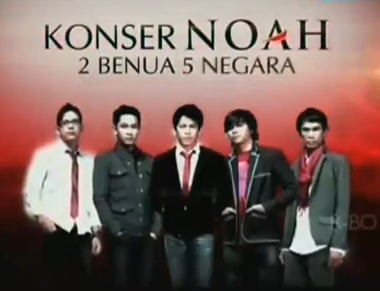 Konser NOAH 5 Negara di 2 Benua dalam 24 Jam
