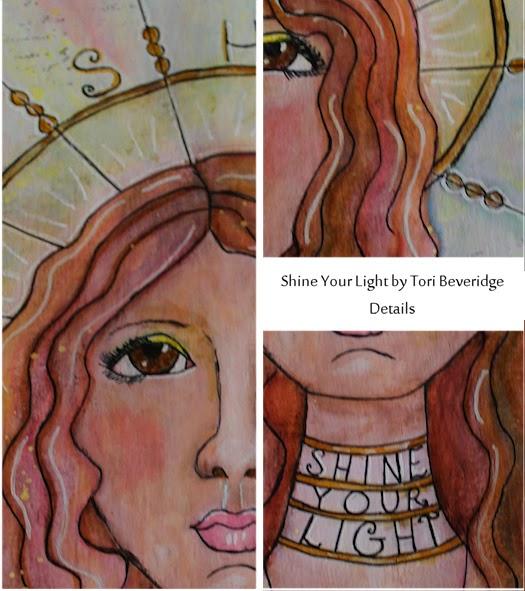 Shine Your Light by Tori Beveridge 2014 Details