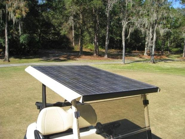 Caddy Solar para Golf