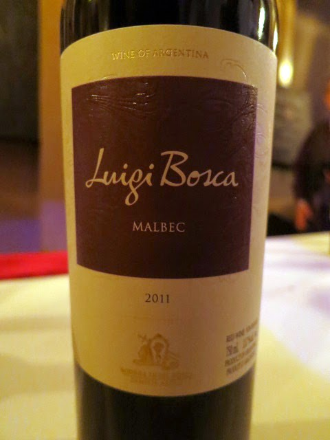 Wine Review of 2011 Luigi Bosca Malbec from Mendoza, Argentina