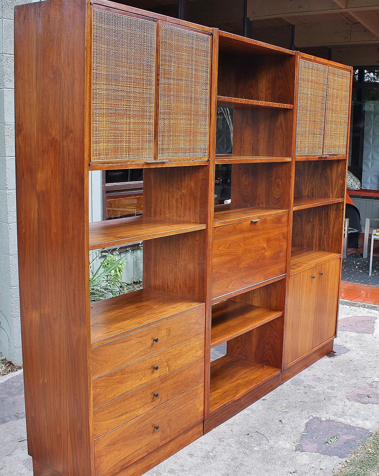 Modwerks Walnut Wall Unit By Founders Furniture