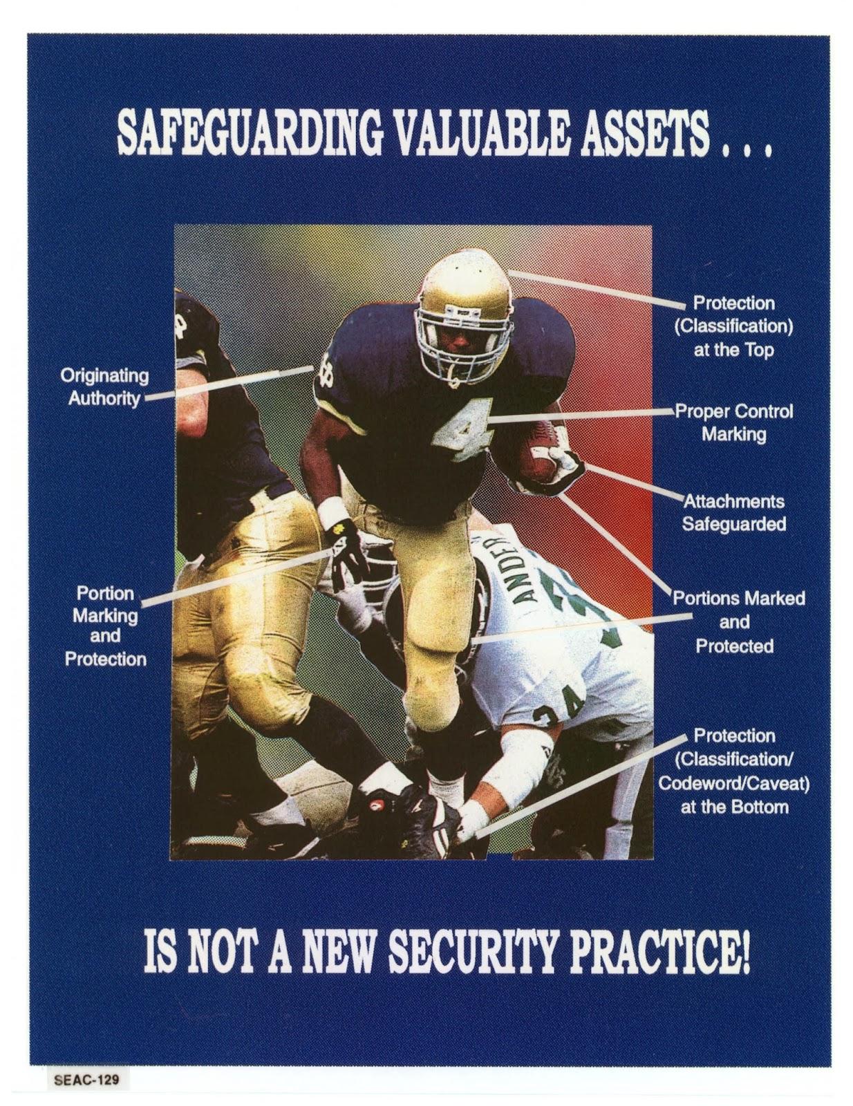 Safeguard valuable assets