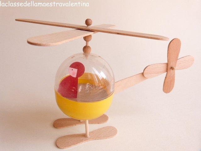 La classe della maestra valentina elicotteri giocattolo for La classe della maestra