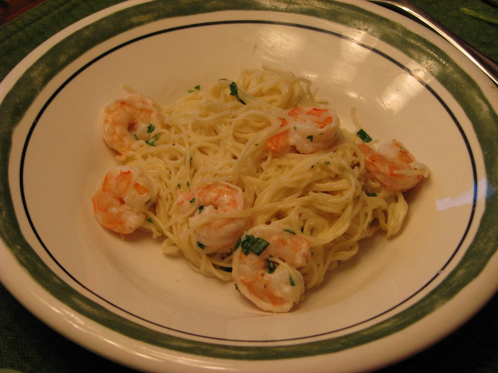 TheFultonGirls: Angel Hair Pasta with Shrimp and Lemon ...