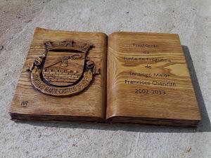 Livro Entalho madeira
