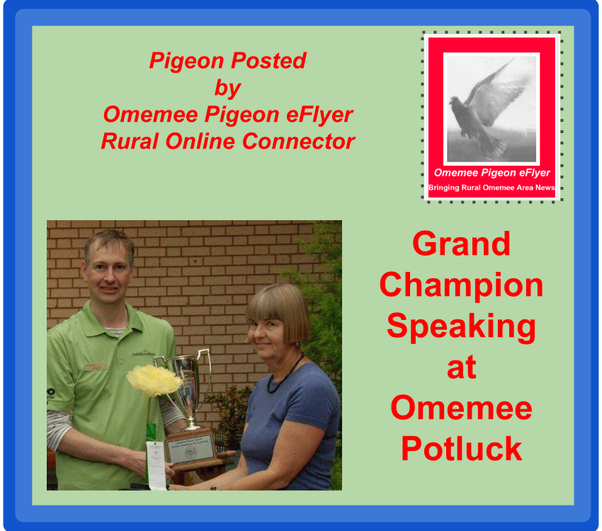 Omemee Horticultural Society welcomes Grand Champion Peony Gardener Heather Cook of Blossom Hill in October