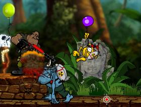 Game Rambo Lùn 2 bắn súng cực hấp dẫn, chơi game rambo lun