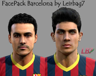 FacePack Barcelona by Leirbag7