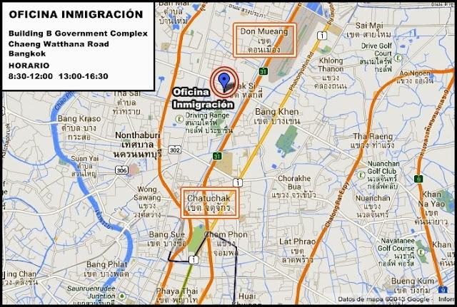 Tailandia-Visados-Trámites-Inmigración
