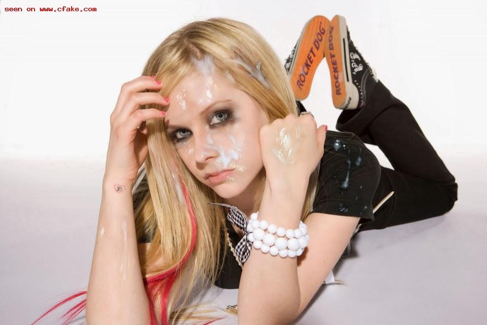 Avril lavigne cum