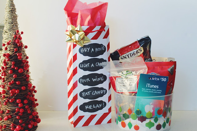 how to give gift card, creative way to wrap gift card, itune gift card present