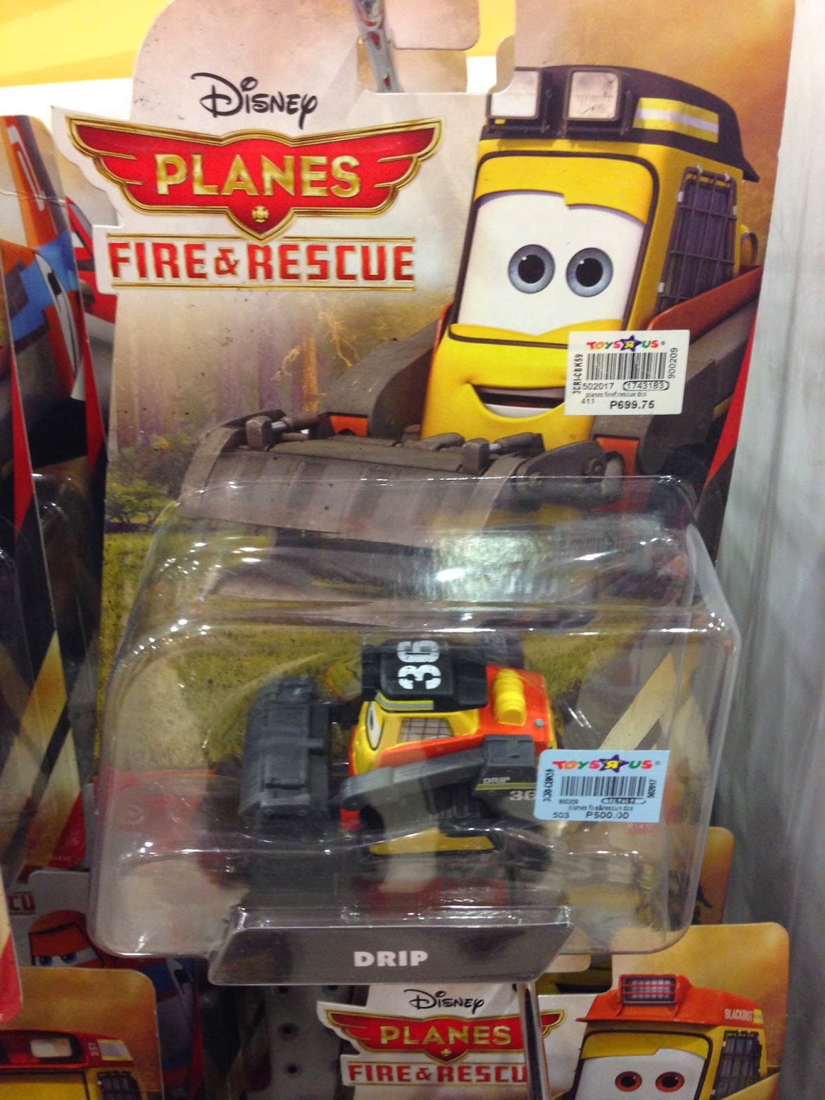 Toy Sale in Manila, Philippines 2015 : Disney Planes Die-Cast Toys on SALE (Drip of the Smoke Jumpers)