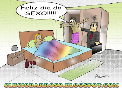 Dia do sexo - 6/9 (charge)