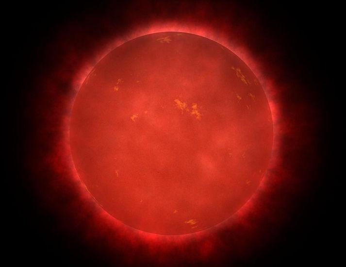 Las enanas rojas son las estrellas más comunes en el universo