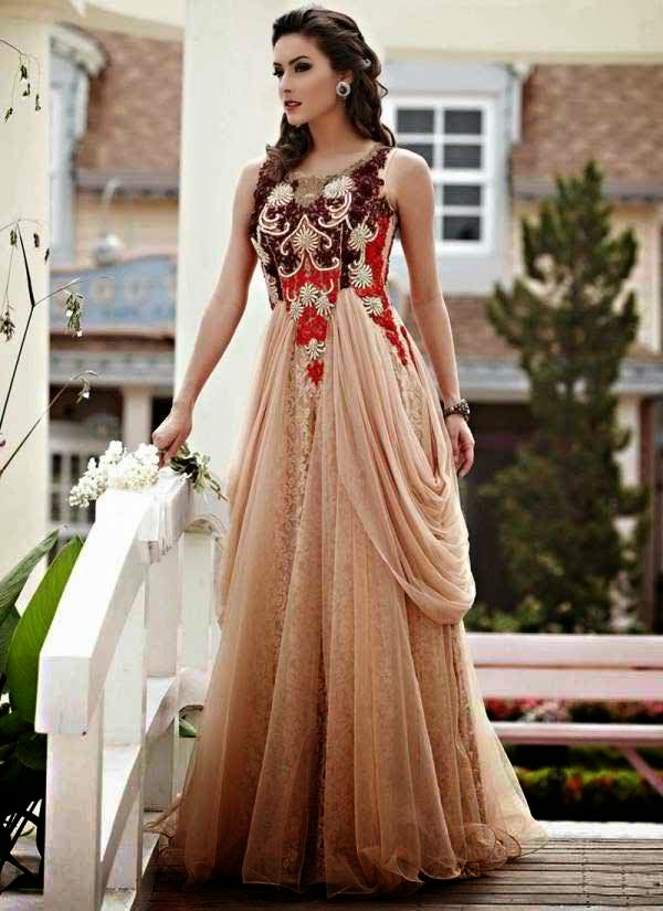 Fashion and stylles: Fancy Dresses 2015 Collection For Beautiful ...