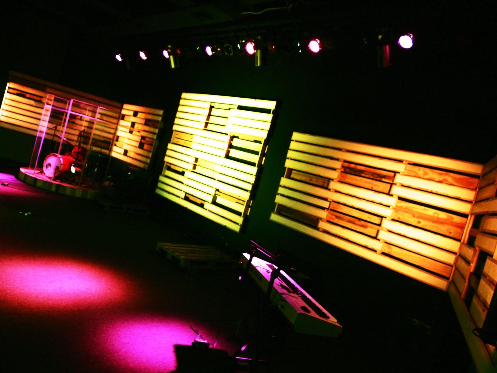 Todd Bougher Pallet Stage Design