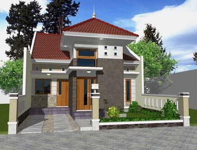model rumah satu lantai on Rumah Dijual ( Type 72 m2/LT 120 m2 ) Lokasi Gedong Kuning JEC ( 2unit ...