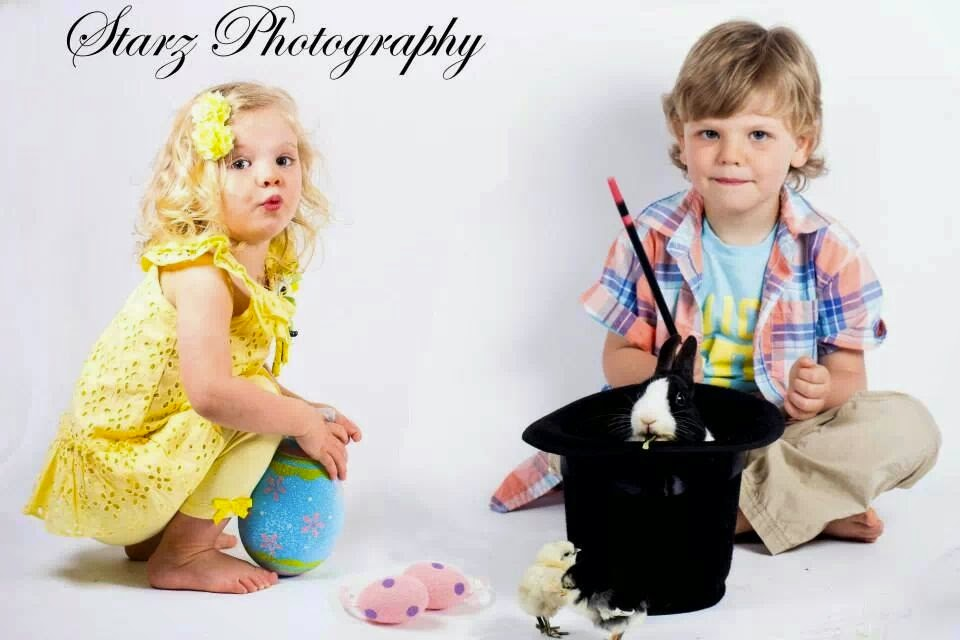 My lovelies at Easter 2014