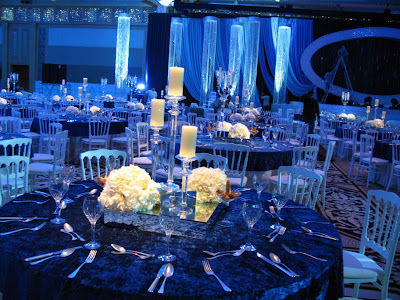 Crystal Wedding Table Decoration With Candles