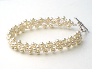 Cream Pearl Braidlets
