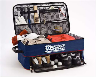 New England Patriots Athalon NFL Golf Trunk Locker Organizer