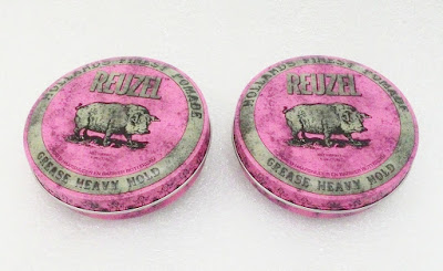 Reuzel Grease Pink Heavy Hold Pomade 4Oz