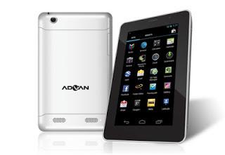 Advan Vandroid T7 - Harga Spesifikasi Tablet Android Ice Cream Sandwich 7 Inch - Berita Handphone