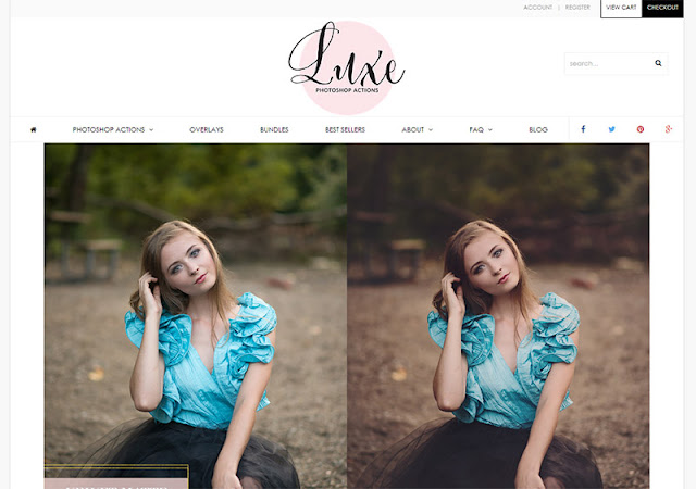 Luxe Photoshop Actions - 10 Sites to Get  Useful Photoshop Actions