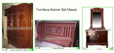 Kamar Set Klender Furniture Mawar