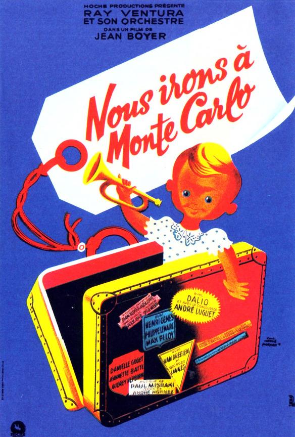 """""""Nous irons à Monte Carlo""""  (1951)"""