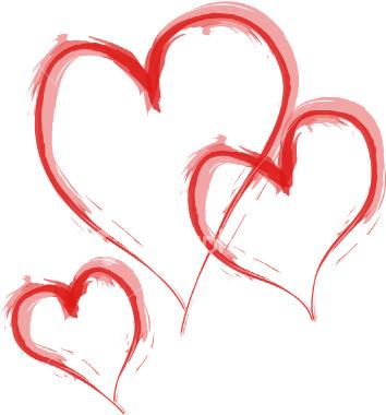 valentines day hearts. Hearts day.