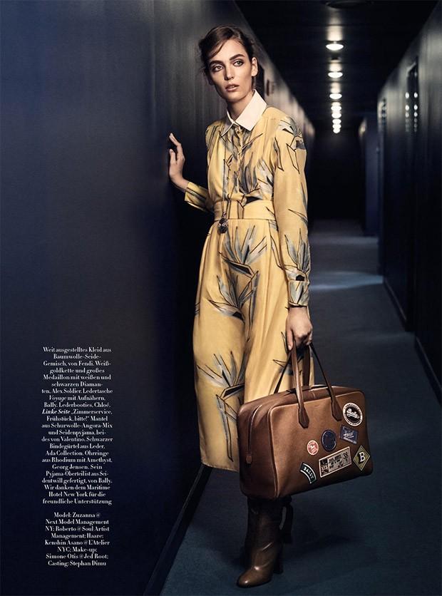 Zuzanna Bijoch in Harper's Bazaar Germany