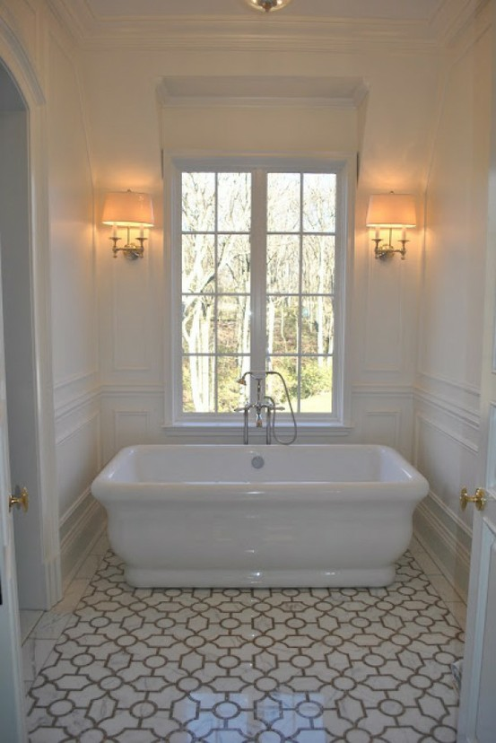 Más cuartos de baño estilo vintage... y chabby chic | Pompas de Ideas