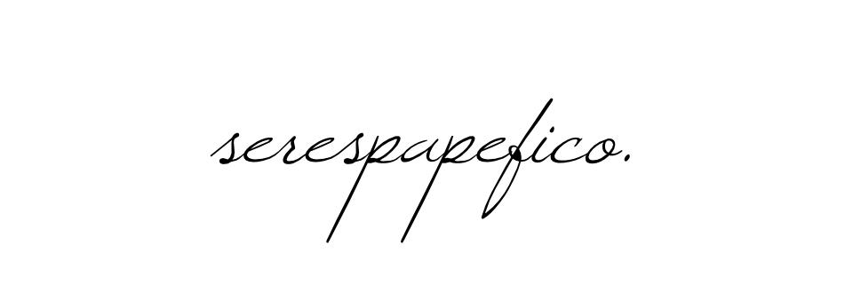 <>< SerEsPaPeFiCo ><>