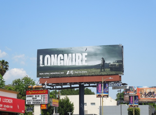 Longmire 2 billboard