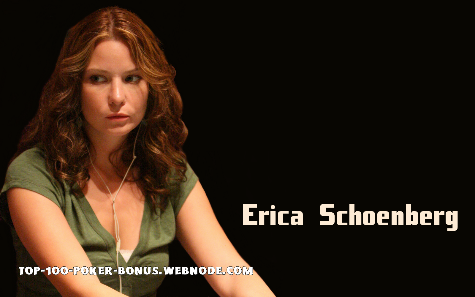 Erica Schoenberg | All the action from the casino floor: news, views and more
