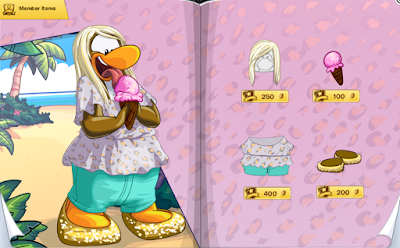 Club Penguin July 2015 Penguin Style Catalog Cheats