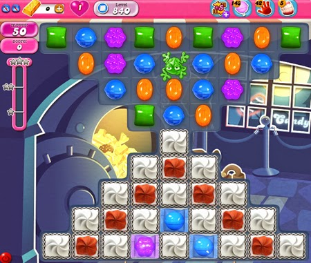 Candy Crush Saga 840