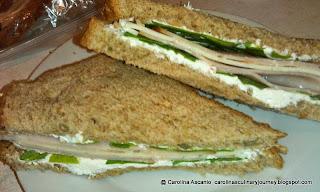 12 Grain (Bread with Urugula) Sandwiche