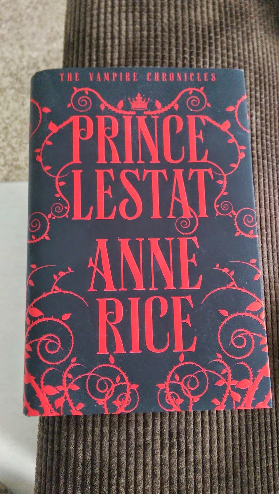 Signed copy of Prince Lestat