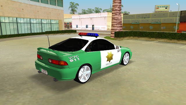 Honda Integra Type R VCPD Police GTA Vice City
