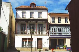 Luanco, casas tradicionales