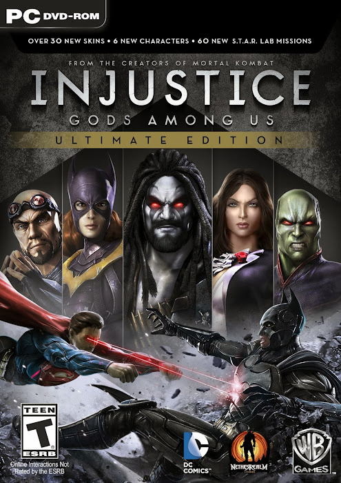 Injustice: Gods Among Us Full Tek Link Oyun İndir