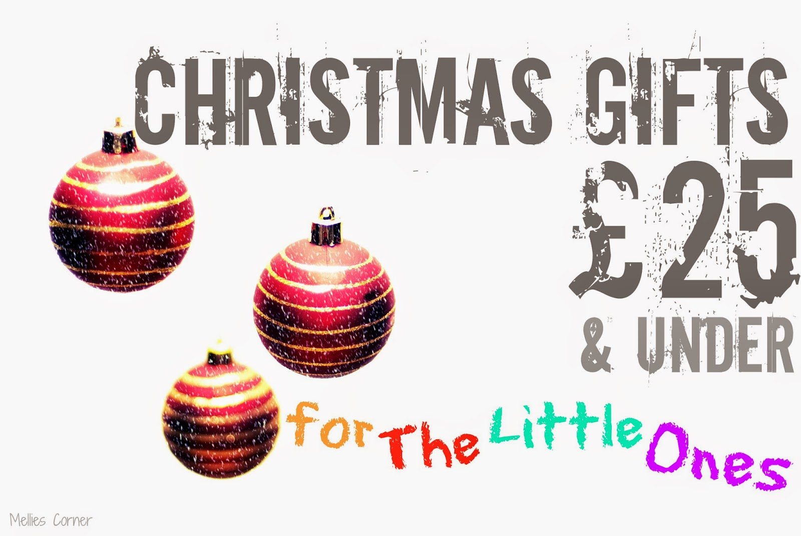 this is my last 2014 christmas gift idea list and what better way to end things than with gift ideas for the little ones in our lives