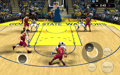 true to life NBA experience to date with  NBA 2K16 APK MOD +DATA [Unlimited Money] Free Download